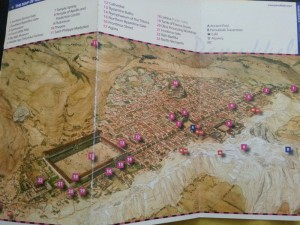 Carte de l'immense cité de Hiérapolis